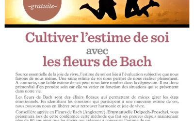 Cultiver l'estime de soi avec les fleurs de Bach