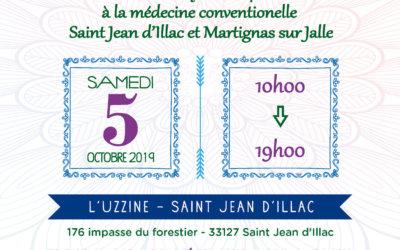 """Salon """"Passerelles vers la Sérénité"""" – 5 octobre 2019"""